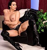 Kourtney black corset. Dirty Kourtney shows her huge tool