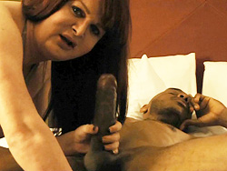 Houston fan pov. Libidinous Wendy takes a huge black dick